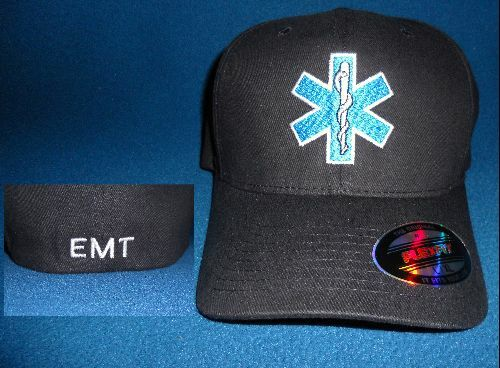 New Honda Accord >> EMT / EMS Flexfit Ball Cap Hat Low profile Star of Life | eBay