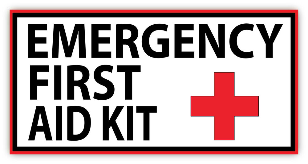 first aid kit sign pdf