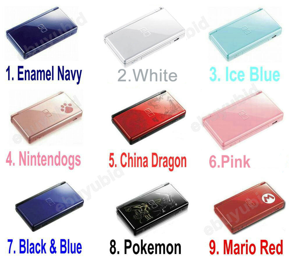 nintendo ds lite console handheld video game system ebay. Black Bedroom Furniture Sets. Home Design Ideas