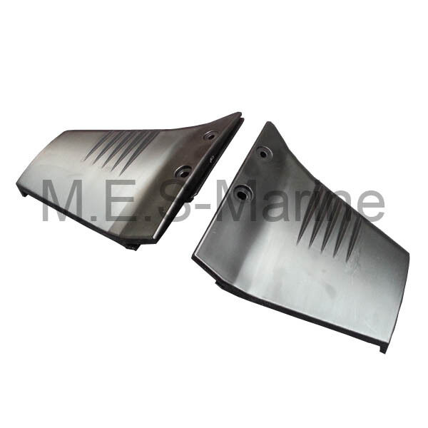 Hydrofoil stabiliser fins for 4 50hp outboard engine for Fin for boat motor