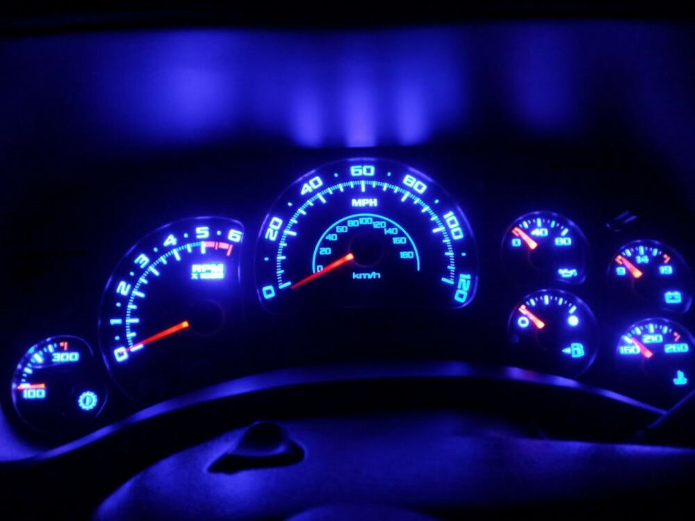 20x Red White Blue Amber Yellow Green T5 Led Dashboard