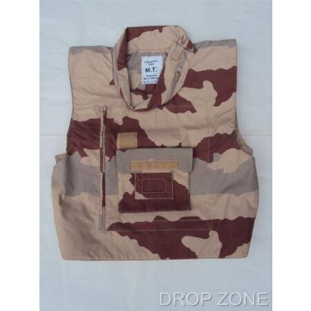 img-NEW French Military Desert Camouflage Camo Flak Jacket / Vest / Paintballing