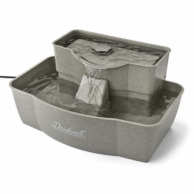 petsafe drinkwell multi tier pet dog or cat fountain