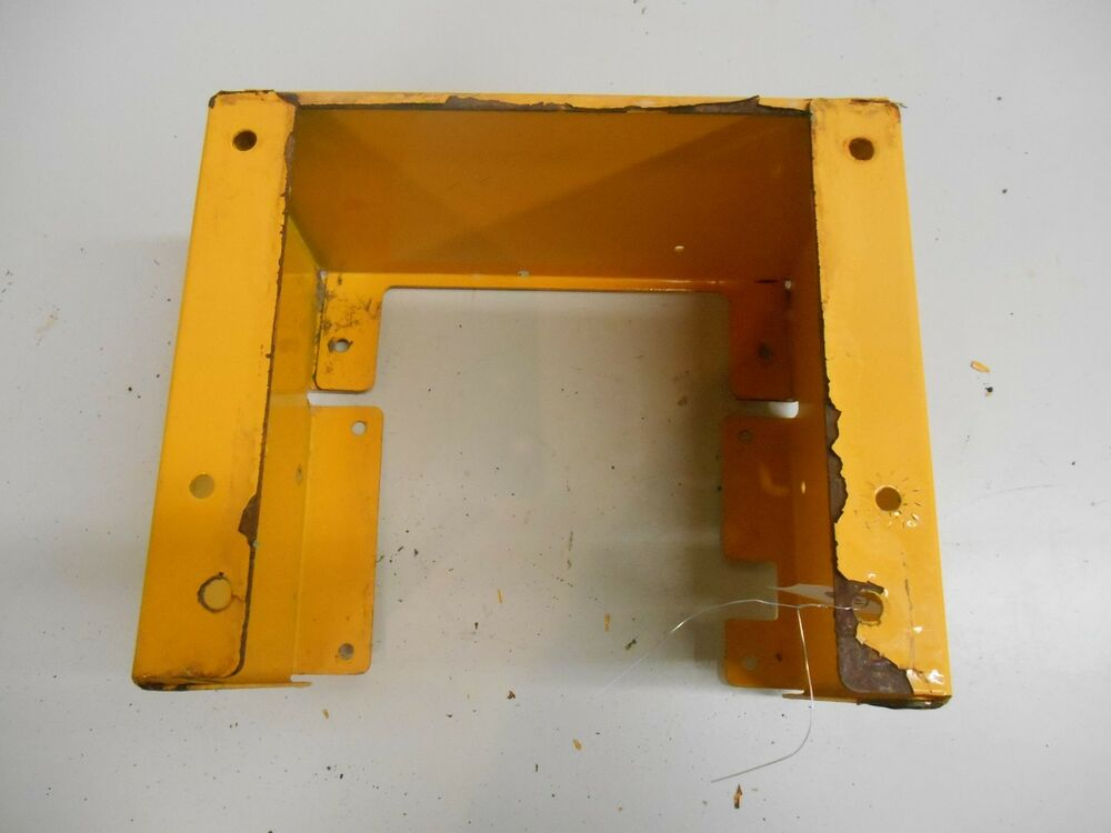 Lawn Tractor Battery Box : Cub cadet lawn tractor battery box fender part