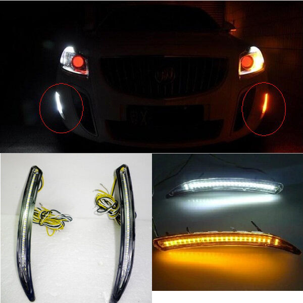 led daytime running light drl for 2012 2013 buick regal gs. Black Bedroom Furniture Sets. Home Design Ideas