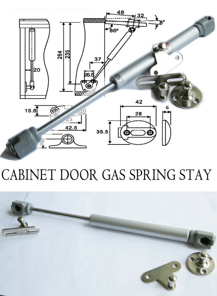 Hydraulic Lift Lid : Cabinet door lift up hydraulic gas spring n support for