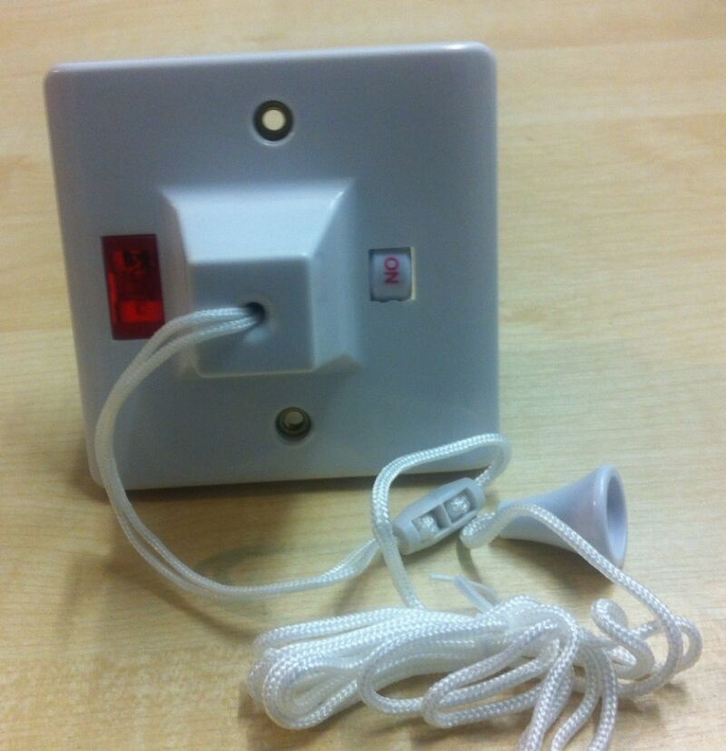50amp Shower Pull Cord Ceiling Switch Dp Neon 1 Way Double