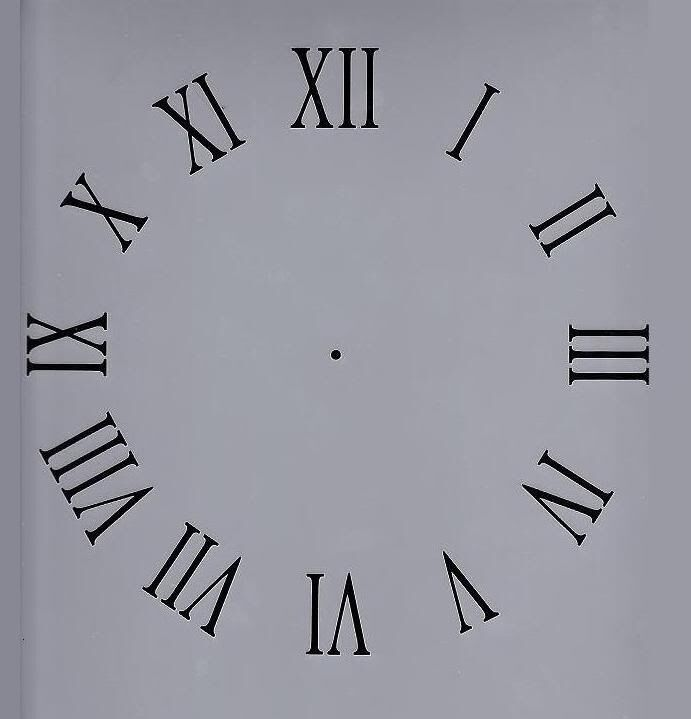 Revered image with regard to roman numeral stencils printable