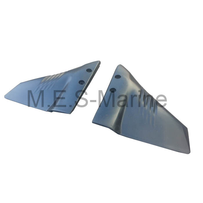 Hydrofoil stabiliser fins for 60 200 hp outboard engine for Fin for boat motor