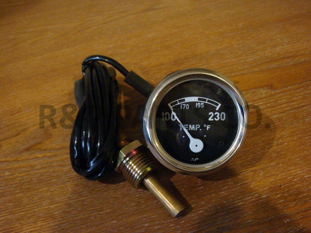 Ford 2000 Tractor Instrument Cover : Temperature temp gauge for ford tractor n naa