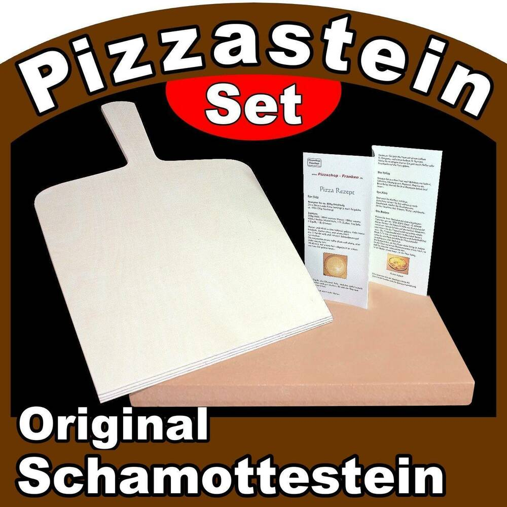 pizzastein brotbackstein set 3 tlg 2 wahl mit backofen schamottestein ebay. Black Bedroom Furniture Sets. Home Design Ideas