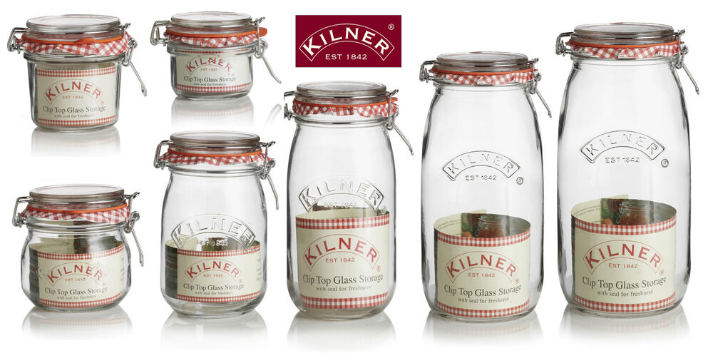 Food Canisters Kitchen Set Of Artisan Glass Canisters With Walnut Lids The Ceramic Tea Coffee