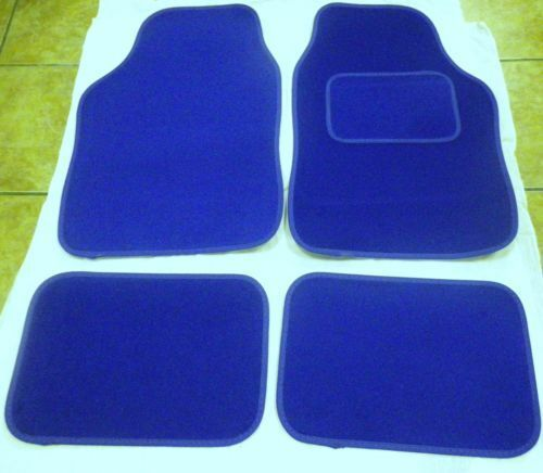 Blue Car Mats For Mg Zt Zs Zr Tf Mgf Mg6 Mgd Gt Ebay