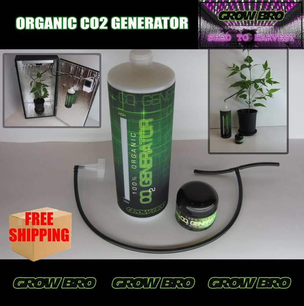 Grow Box Organic Co2 Generator Large Foliage For Tents