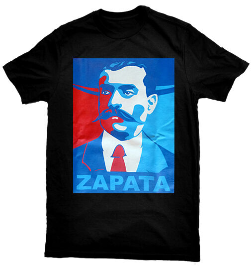 Emiliano zapata hope mexican chiacno pride t shirt ebay for 2017 mexican heritage night t shirt