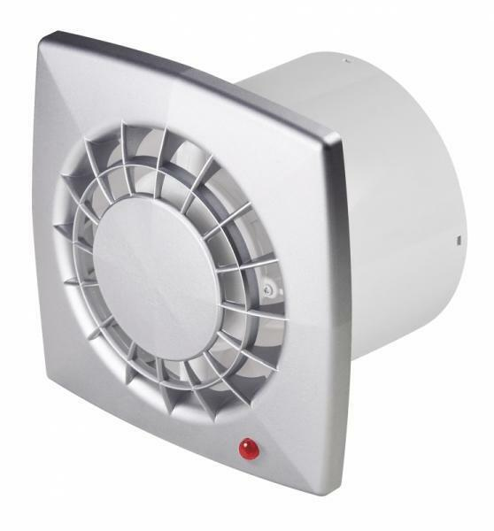 Bathroom Extractor Fan 100mm 4 With Timer Satin Ventilator Kitchen Wgs100t Ebay