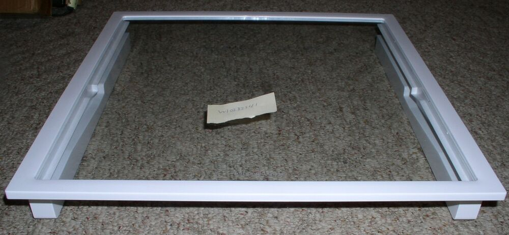 Whirlpool Refrigerator Shelf Frame For Crisper Meat Pans