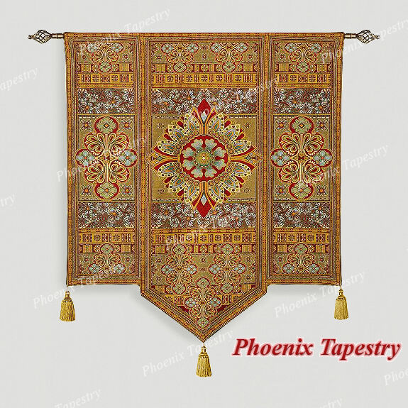 Moroccan Style I Fine Art Tapestry Wall Hanging Cotton
