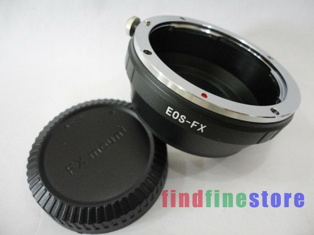 canon eos ef ef s lens to fujifilm fuji fx x mount x pro1 x e1 adapter cap ebay. Black Bedroom Furniture Sets. Home Design Ideas