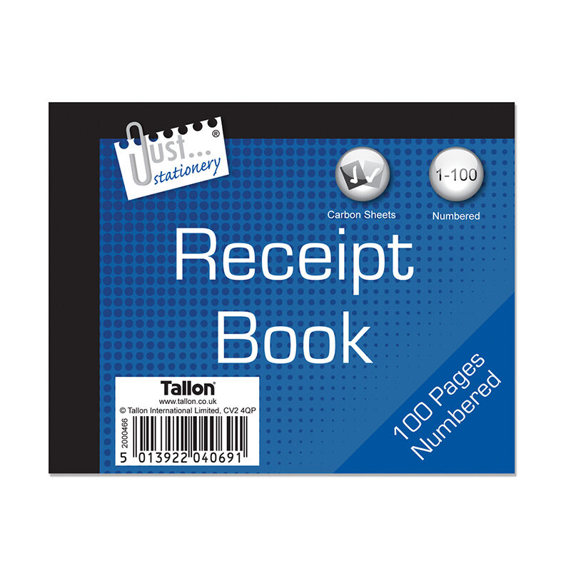 how to use a carbon receipt book