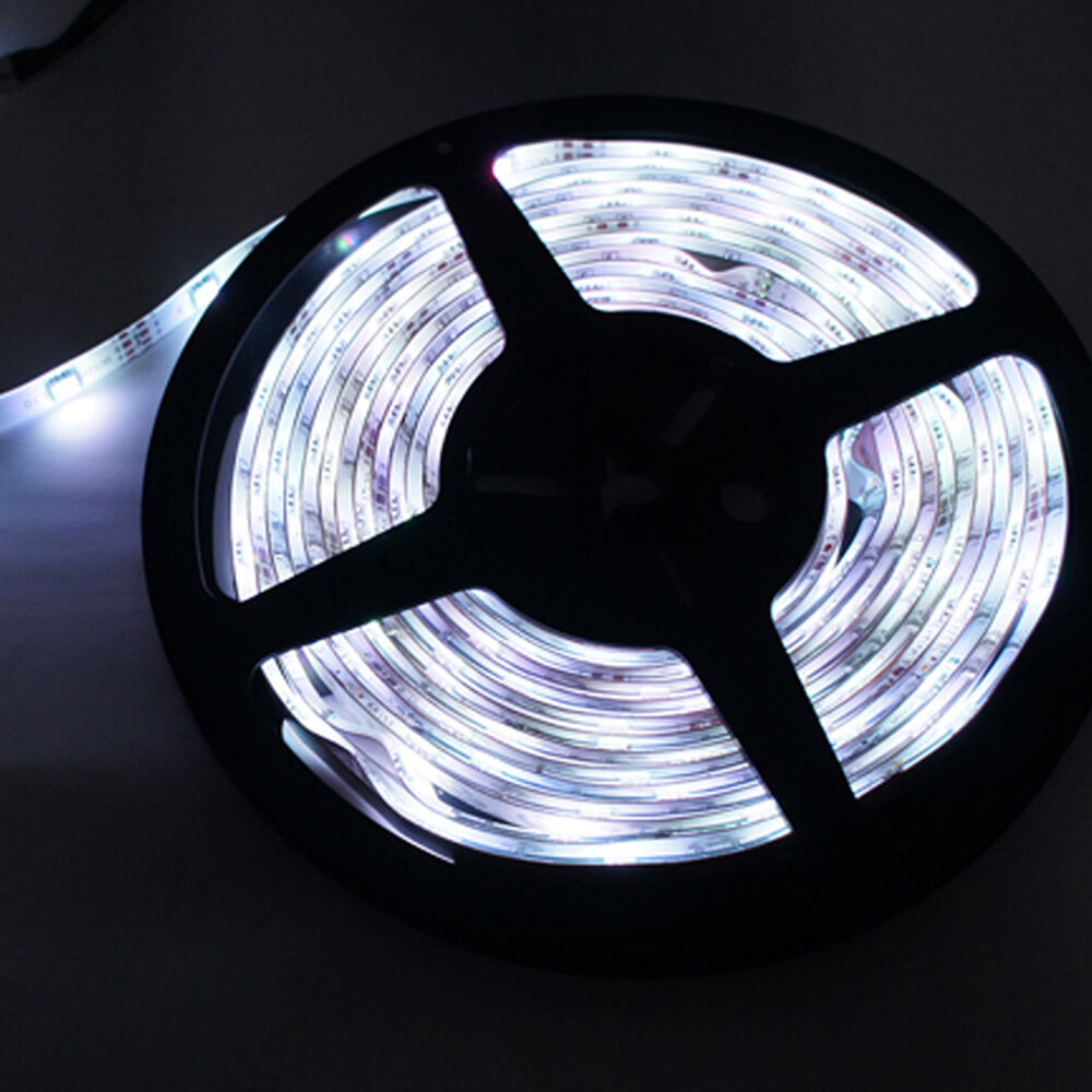 10m 2 5m 12v cool white non waterproof 3528 smd flexible. Black Bedroom Furniture Sets. Home Design Ideas