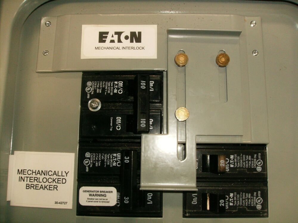 Fancy Eaton Generator Panel Pattern - Electrical and Wiring Diagram ...