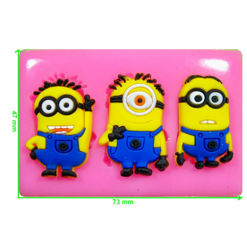 Minions Mould by Fairie Blessings  eBay