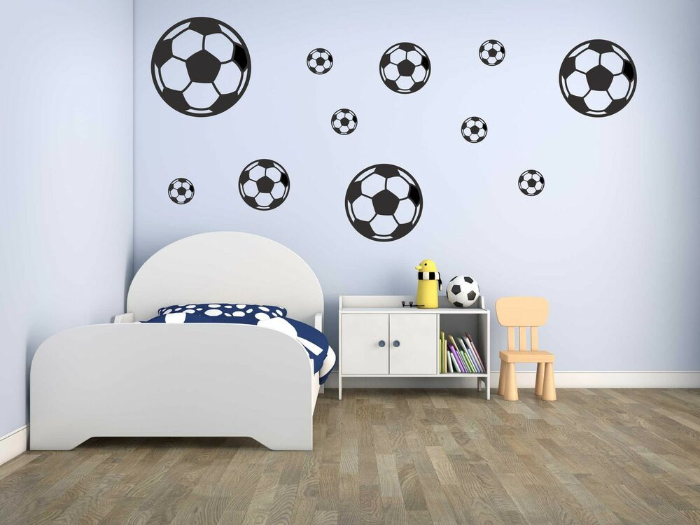 jungen fussball zimmer verschiedene ideen. Black Bedroom Furniture Sets. Home Design Ideas