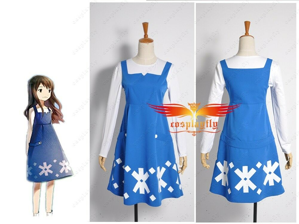 Anime Movie Wolf Children Ame and Yuki Yuki Dress Cosplay Costume Custom Made | eBay