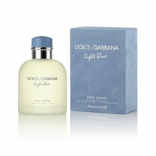 d g light blue by dolce gabbana 2 5 oz edt spray new in. Black Bedroom Furniture Sets. Home Design Ideas