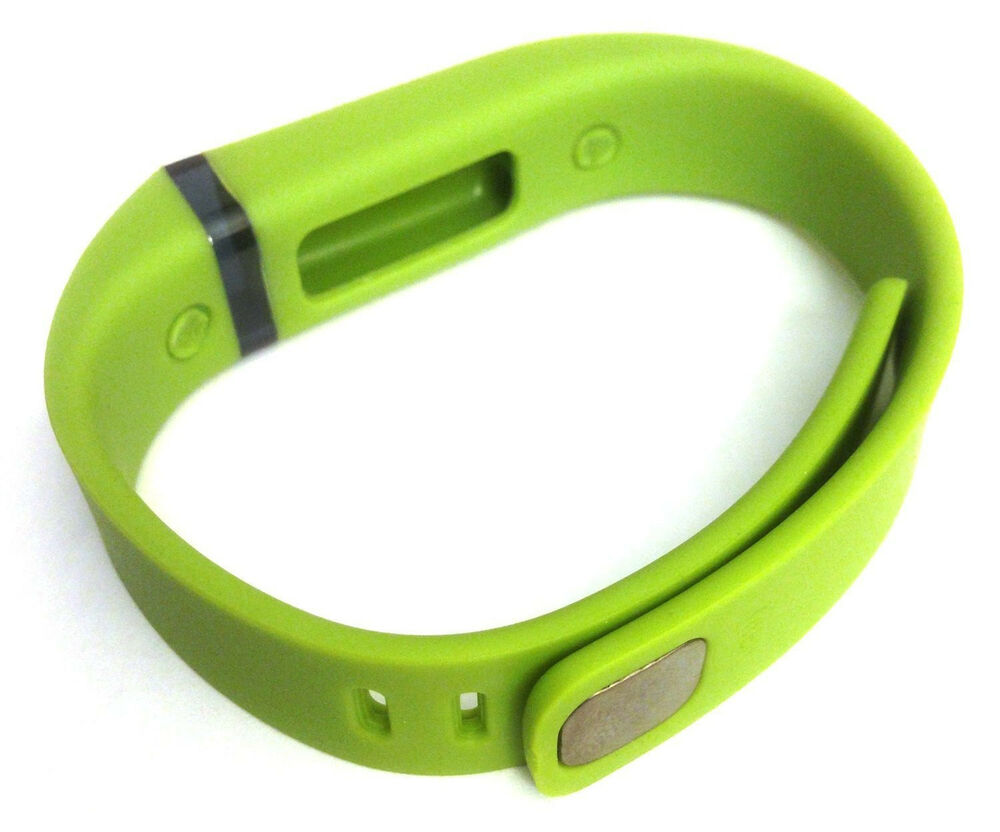 1 large LIME Green FitBit FLEX Wristband/Bracelet ONLY ...
