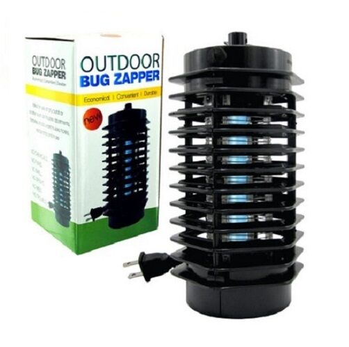 outdoor bug zapper electric mosquito fly insect stinger garden pest