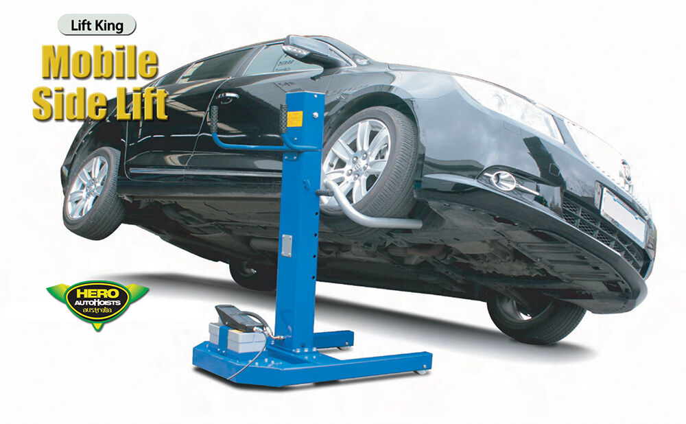 Automotive Hydraulic Lift Parts : Mobile side lift auto body air hydraulic car