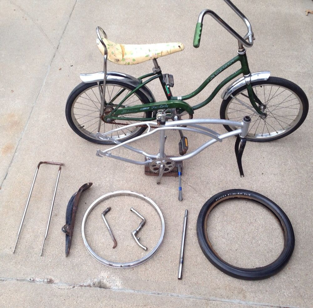 Old Schwinn Bicycle Parts : Schwinn stingray boys quot bicycle vintage cantilever