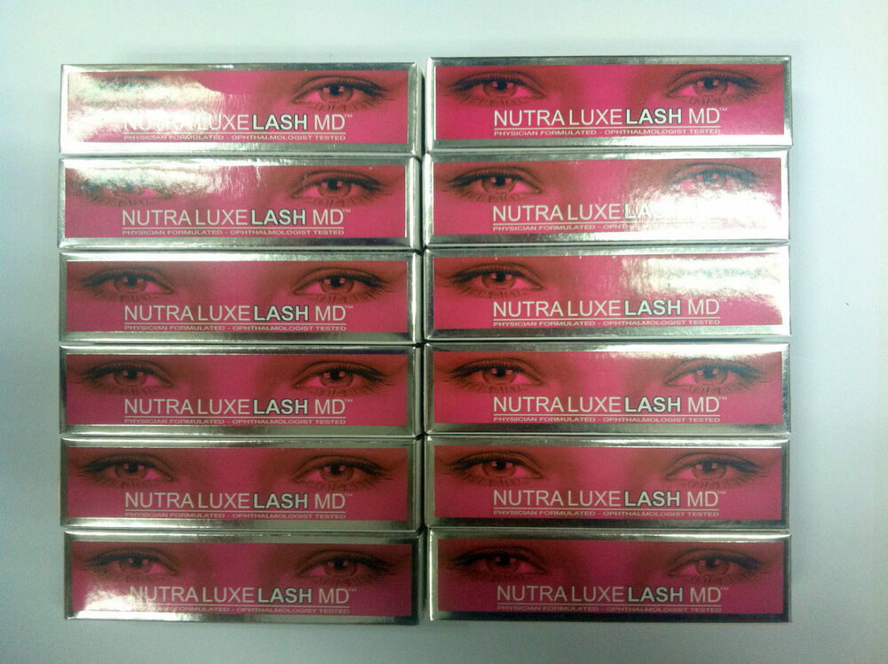 NEW Lot of 12 NUTRA LUXE Nutraluxe LASH MD Eyelash Eyebrow Conditioner 3ml #01  | eBay