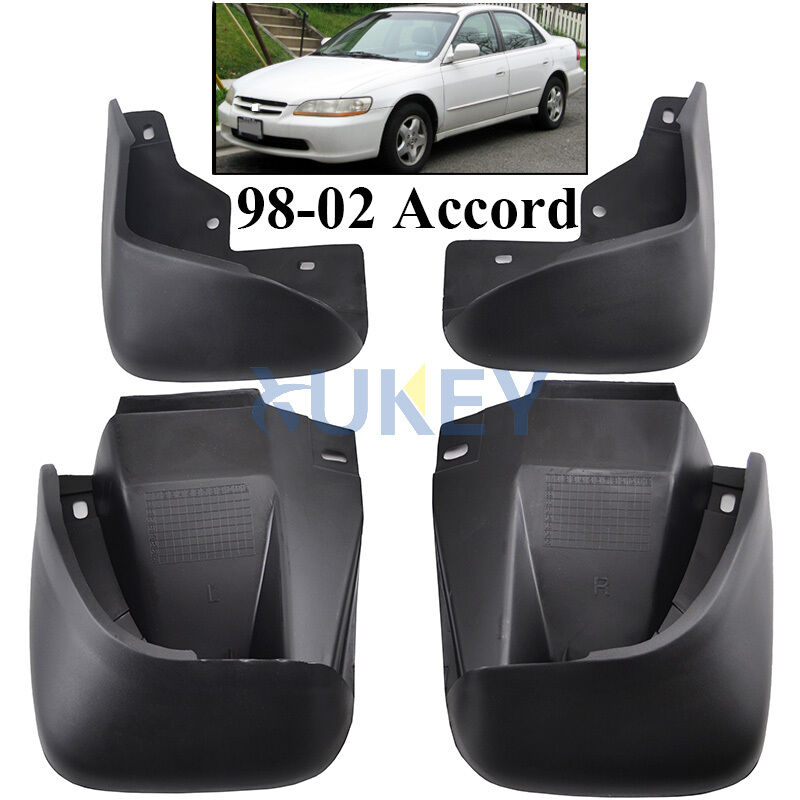 Fit For 1998 2002 Honda Accord 4 Dr Mud Flap Flaps