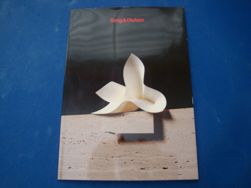 bang olufsen vintage product catalog in korean ebay. Black Bedroom Furniture Sets. Home Design Ideas