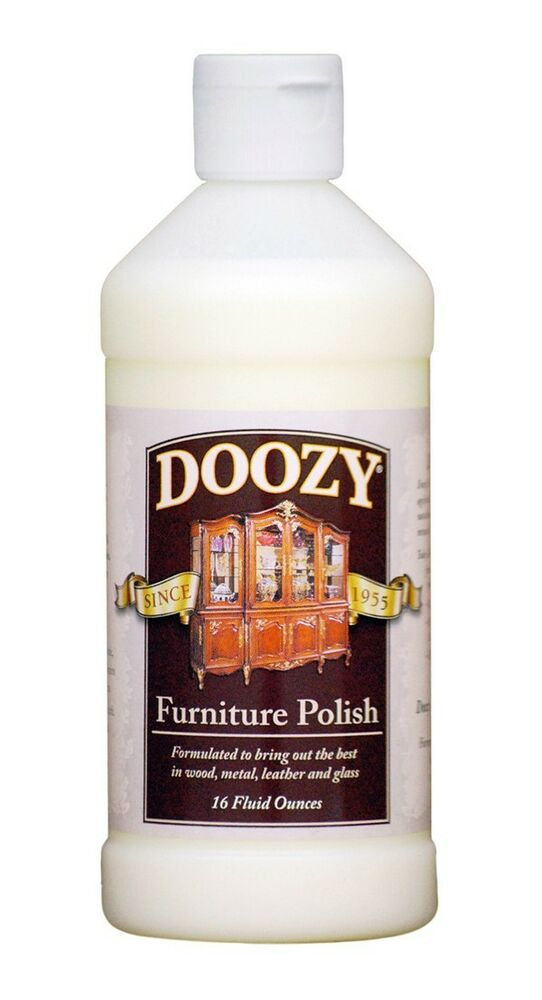 Doozy Furniture Polish 16 Oz Antique Wood Furniture