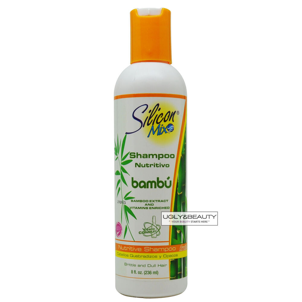 bamboo style hair products silicon mix bamboo bambu shampoo 8 fl oz 236 ml for 9099