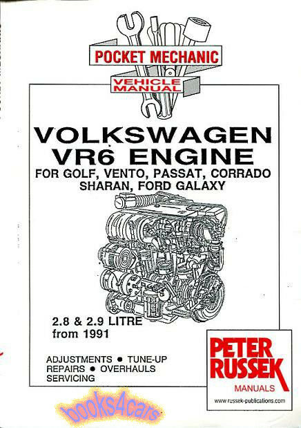 volkswagen vr6 engine shop manual service repair book 2000 jetta vr6 engine diagram 2000 vw jetta vr6 engine diagram
