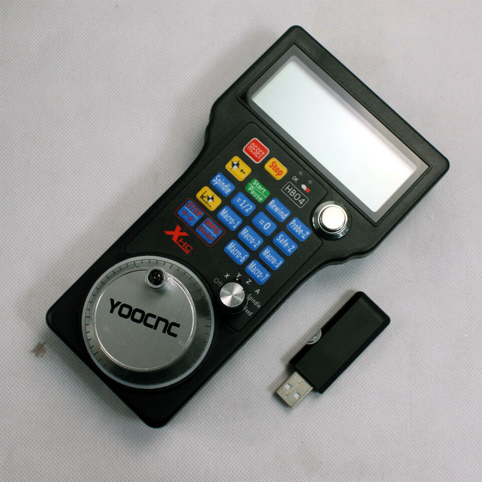 CNC Wireless MPG MACH3 Remote Controller Electronic
