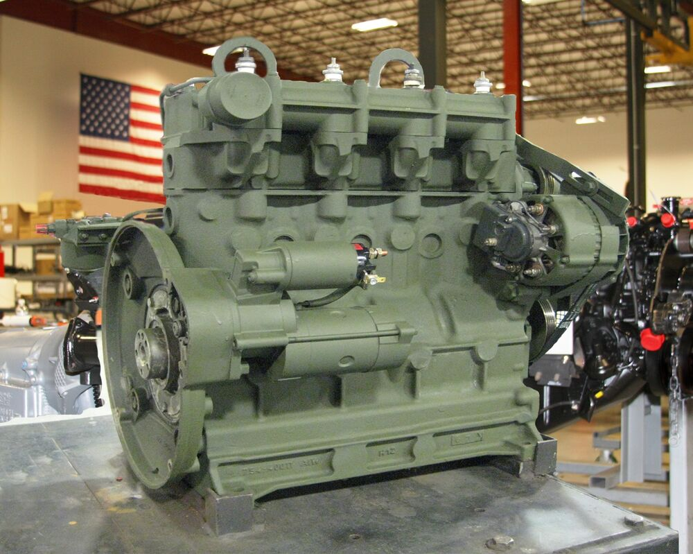 Remanufactured Surplus Dn4m 1 Onan 10kw Military Engine