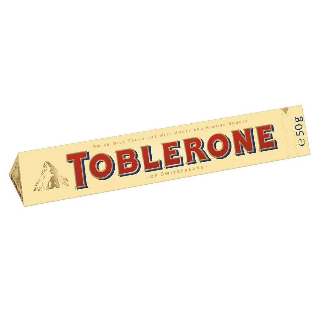 Toblerone Milk Chocolate With Honey And Almond Nougat