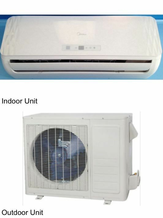 Midea Ductless Split Ac 9k Btu Heat Pump Heating Amp Air