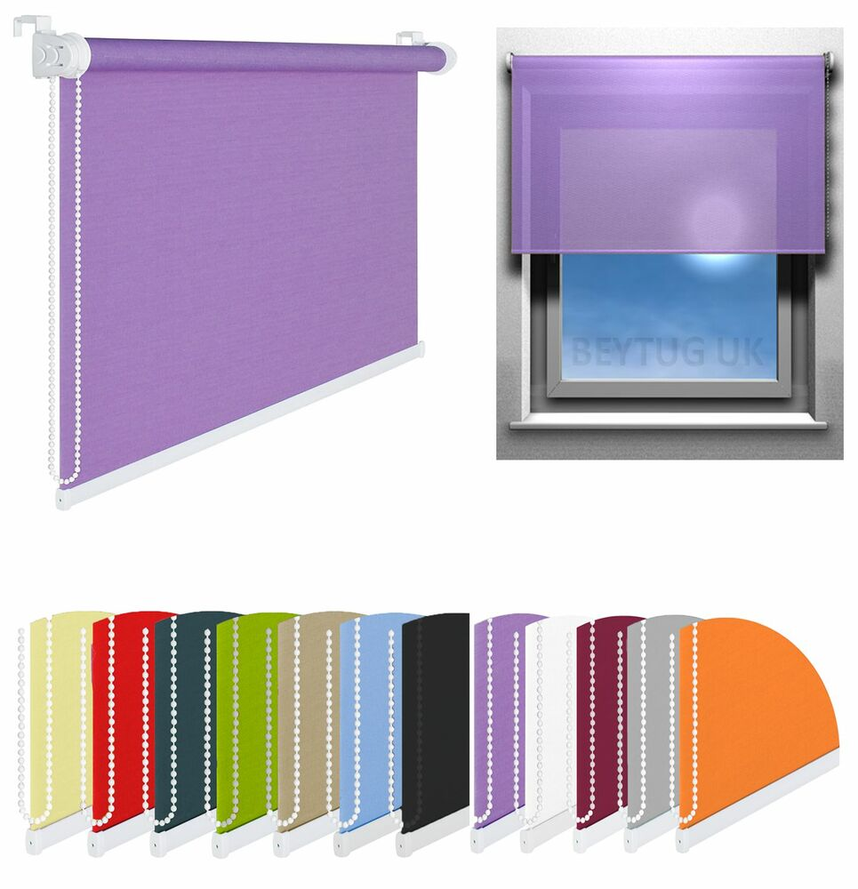 Quality Window Roller Blinds Choice Of Width Sizes And