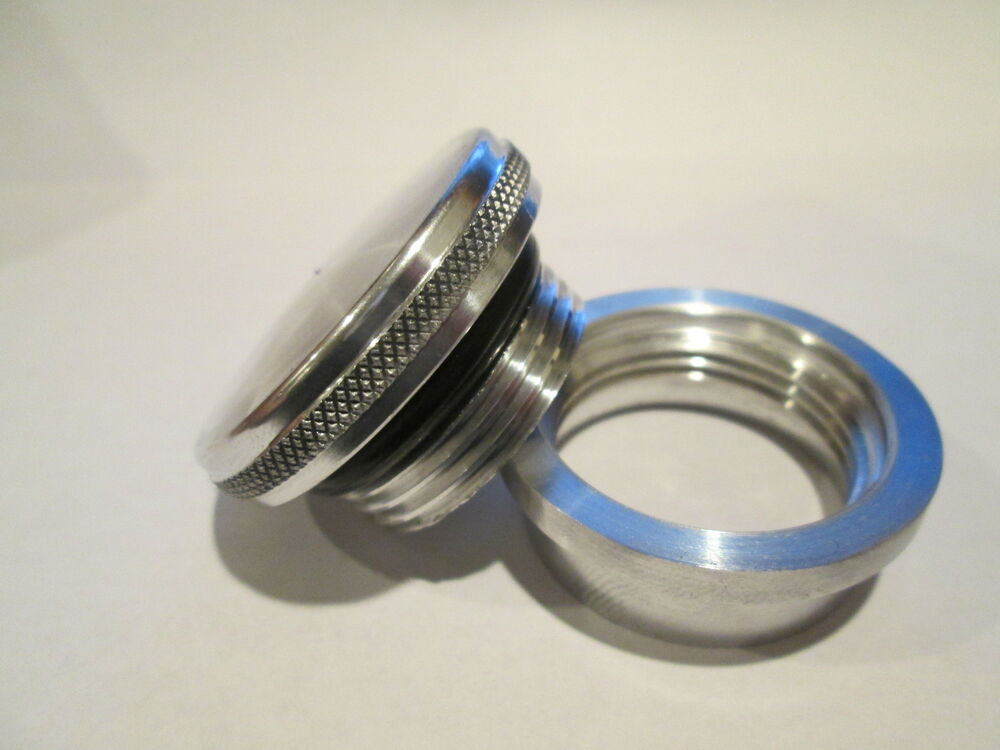 Aluminum Vented Cap And Bung MADE IN USA!! Vented Filler ...