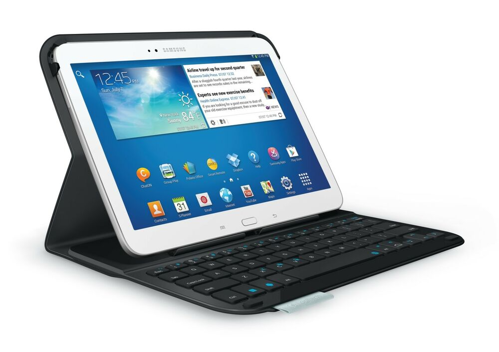 logitech ultrathin keyboard folio case s310 for samsung galaxy tab 3 10 1 ebay. Black Bedroom Furniture Sets. Home Design Ideas
