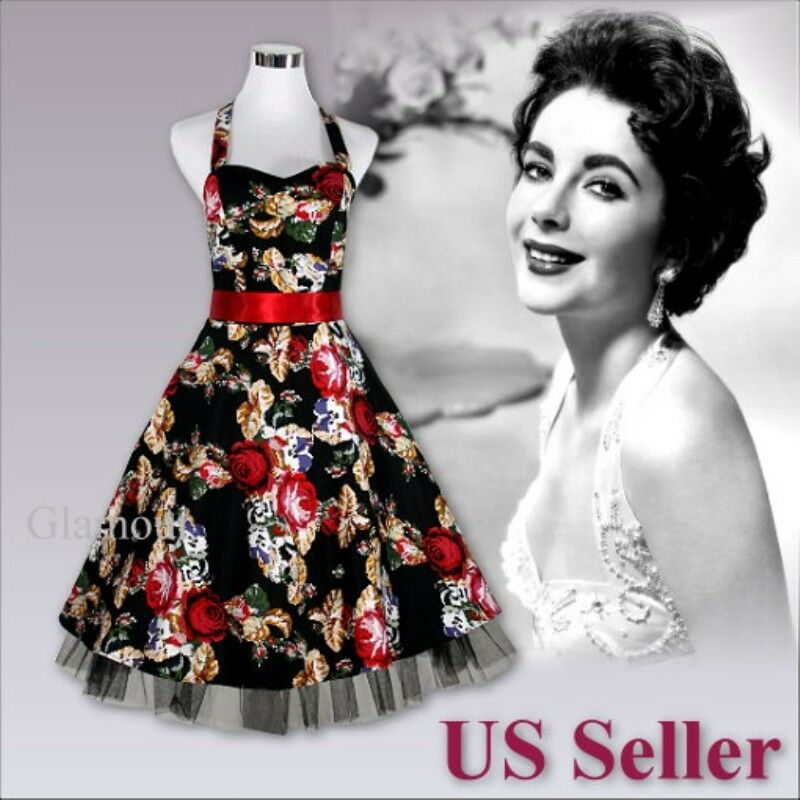 Beautiful 50s Rockabilly Pinup Party Prom Wedding Vintage