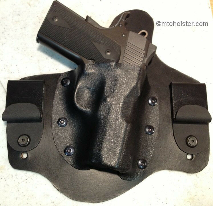 KIMBER IWB MTO holster leather kydex Solo and 1911s with 3 ...