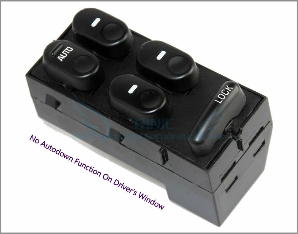 1997 2005 buick regal century electric power window master control switch new ebay. Black Bedroom Furniture Sets. Home Design Ideas